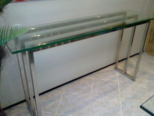 Aparador Aço Inox E Vidro ~ Aparador ref 407 Loja de vidro e aço
